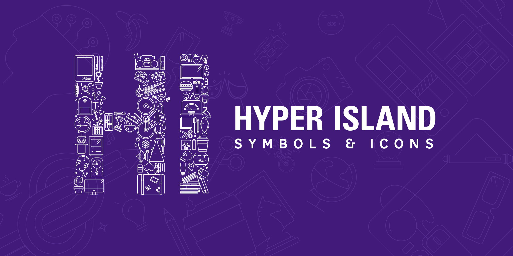 Hyper Island: Symbols & icons
